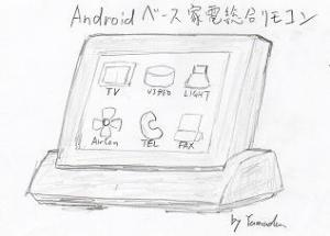 Androidベース多機能リモコン